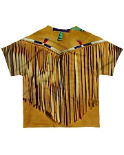 Tassels Yellow All-over T-Shirt back