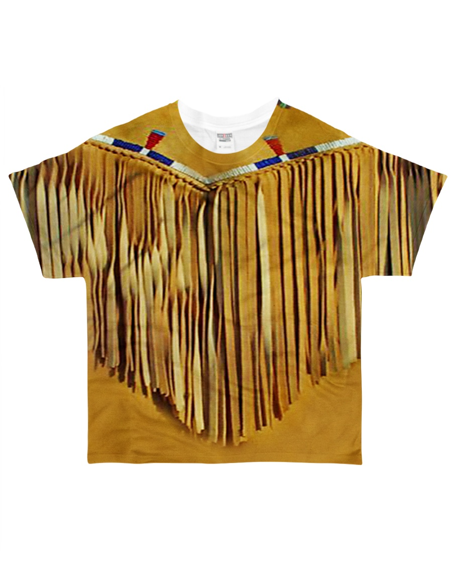 Tassels Yellow All-over T-Shirt