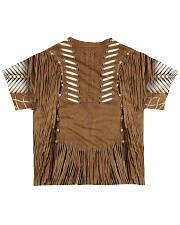 Brown Pattern All-over T-Shirt back