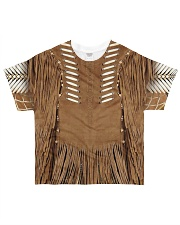 Brown Pattern All-over T-Shirt front
