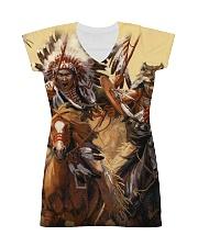 Native Battle All-over Dress thumbnail