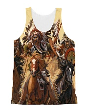 Native Battle All-over Unisex Tank front