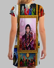 Native Woman All-over Dress aos-dress-back-lifestyle-3