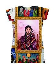 Native Woman All-over Dress back