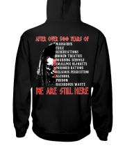We are still here Hooded Sweatshirt back