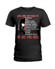 We are still here Ladies T-Shirt thumbnail