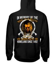 MEMORY Hooded Sweatshirt back