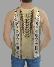 Traditional Native All-over Unisex Tank aos-tank-unisex-lifestyle01-back