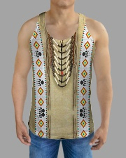 Traditional Native All-over Unisex Tank aos-tank-unisex-lifestyle01-front