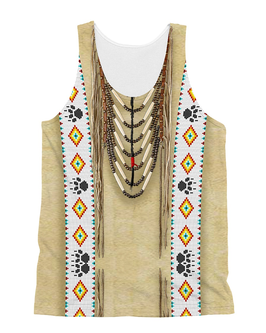 Traditional Native All-over Unisex Tank