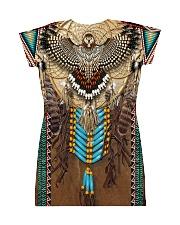 Owl Pattern All-over Dress back