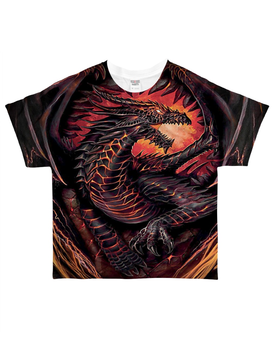 Fire Dragon All-over T-Shirt