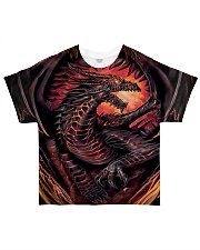 Fire Dragon All-over T-Shirt front