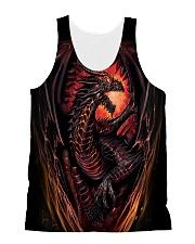Fire Dragon All-over Unisex Tank thumbnail