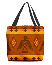 Orange Pattern All-over Tote thumbnail