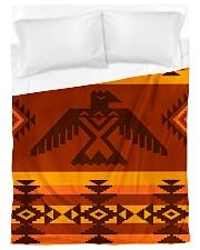 Orange Pattern Duvet Cover - Twin XL front