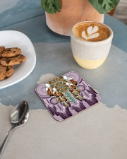 Purple Dreamcatcher Square Coaster aos-homeandliving-coasters-square-lifestyle-02