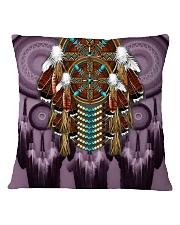 Purple Dreamcatcher Square Pillowcase thumbnail