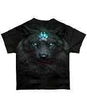 Dark Wolf All-over T-Shirt back