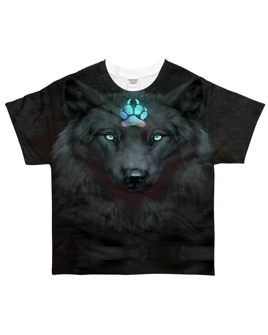 Dark Wolf All-over T-Shirt