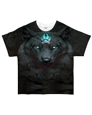 Dark Wolf All-over T-Shirt front