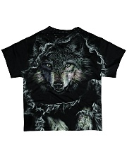 Wolf Black All-over T-Shirt back