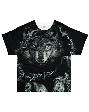 Wolf Black All-over T-Shirt front