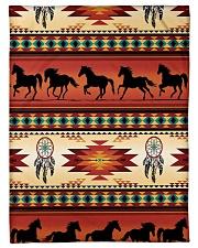"Horse Pattern Small Fleece Blanket - 30"" x 40"" thumbnail"