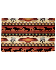 Horse Pattern Woven Rug - 3' x 2' thumbnail