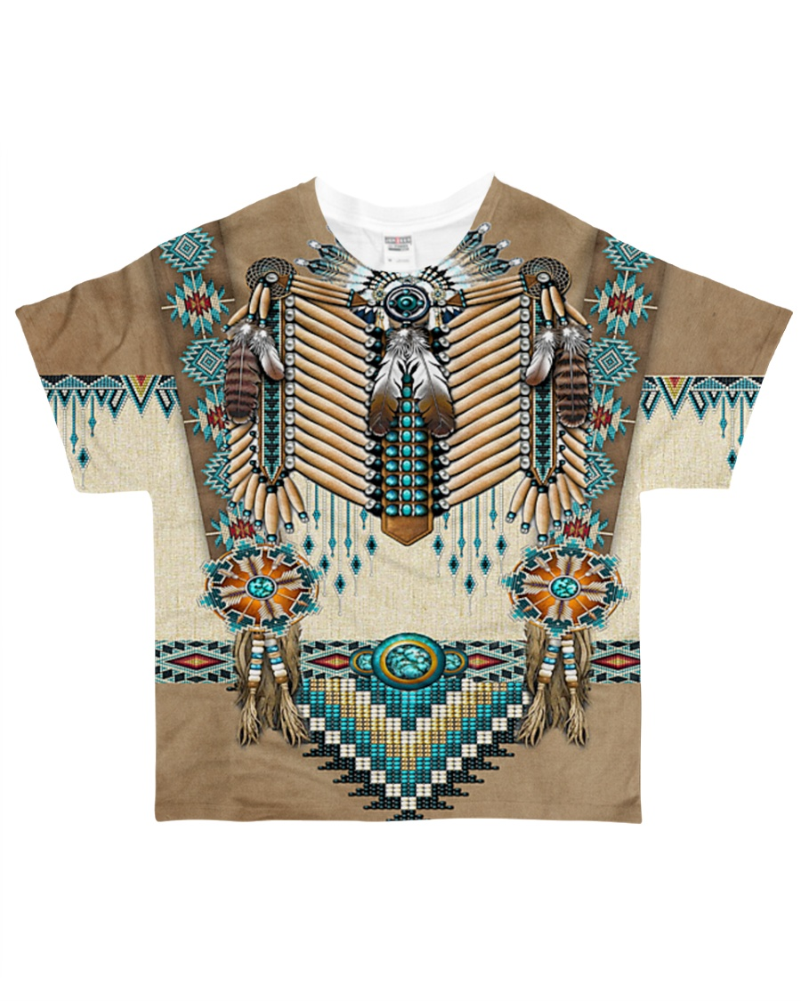 Native Pattern All-over T-Shirt