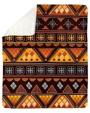 "Native Pattern Sherpa Fleece Blanket - 50"" x 60"" thumbnail"