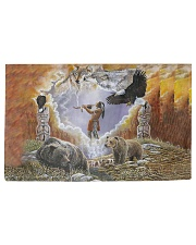 Animal Spirit Woven Rug tile