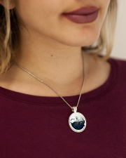 Jewelry 02 Metallic Circle Necklace aos-necklace-circle-metallic-lifestyle-1