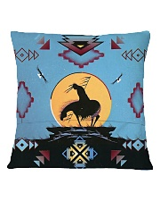 Native American Square Pillowcase back