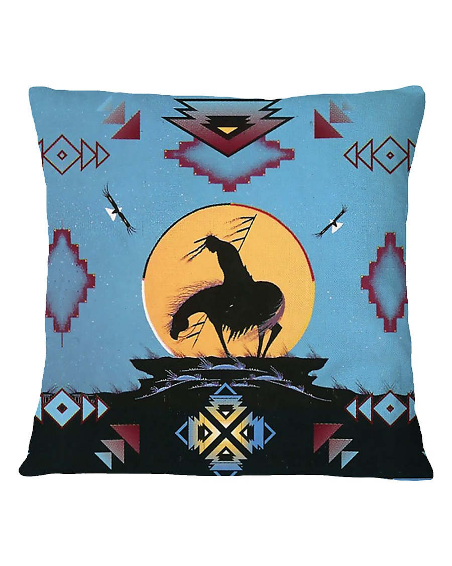 Native American Square Pillowcase
