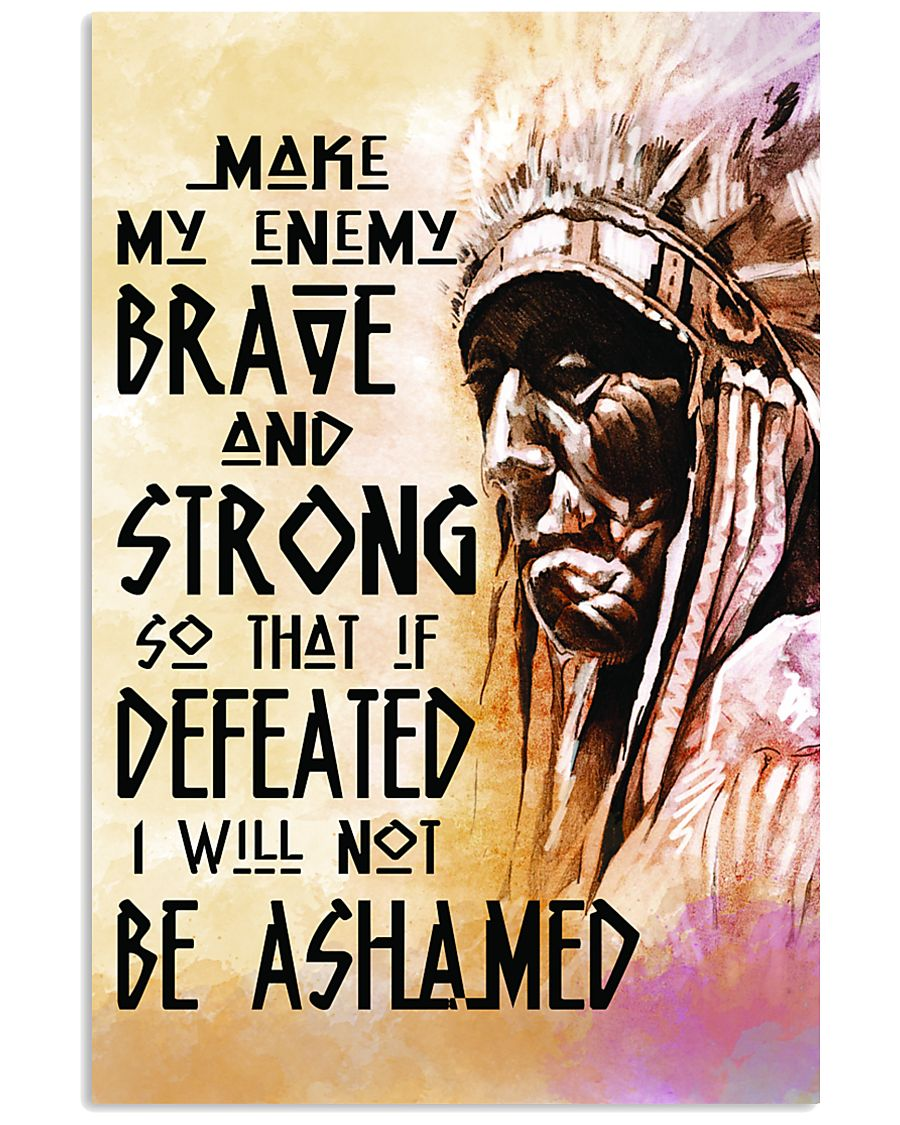 Brave and Strong 11x17 Poster