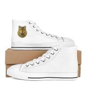 Frass Art Men's High Top White Shoes inside-right-outside-right