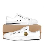 Frass Art Men's Low Top White Shoes thumbnail