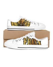 Frass Art Women's Low Top White Shoes thumbnail