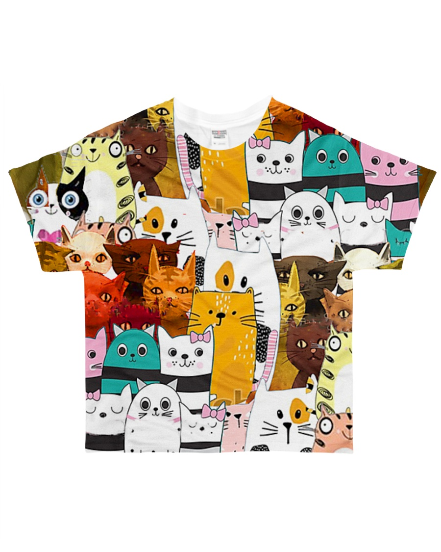 Perfect T shirt for Cat lovers All-over T-Shirt