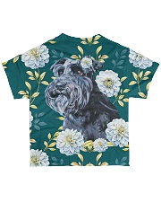 Schnauzer Tee All-over T-Shirt back