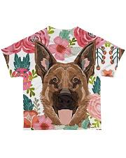 German Shepherd Tee All-over T-Shirt back