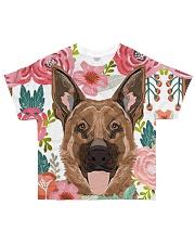 German Shepherd Tee All-over T-Shirt front