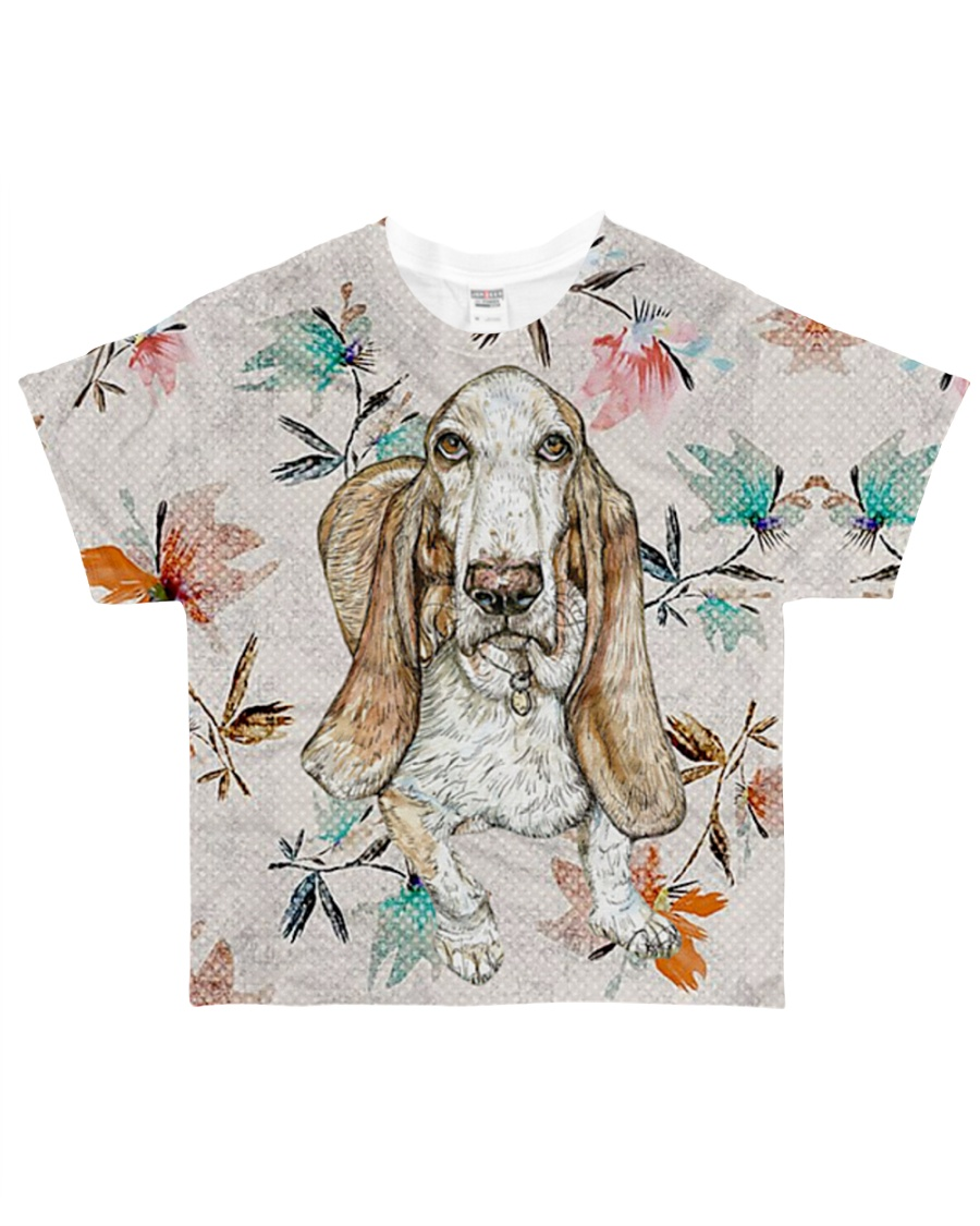 Perfect T shirt for Basset Hound lovers All-over T-Shirt