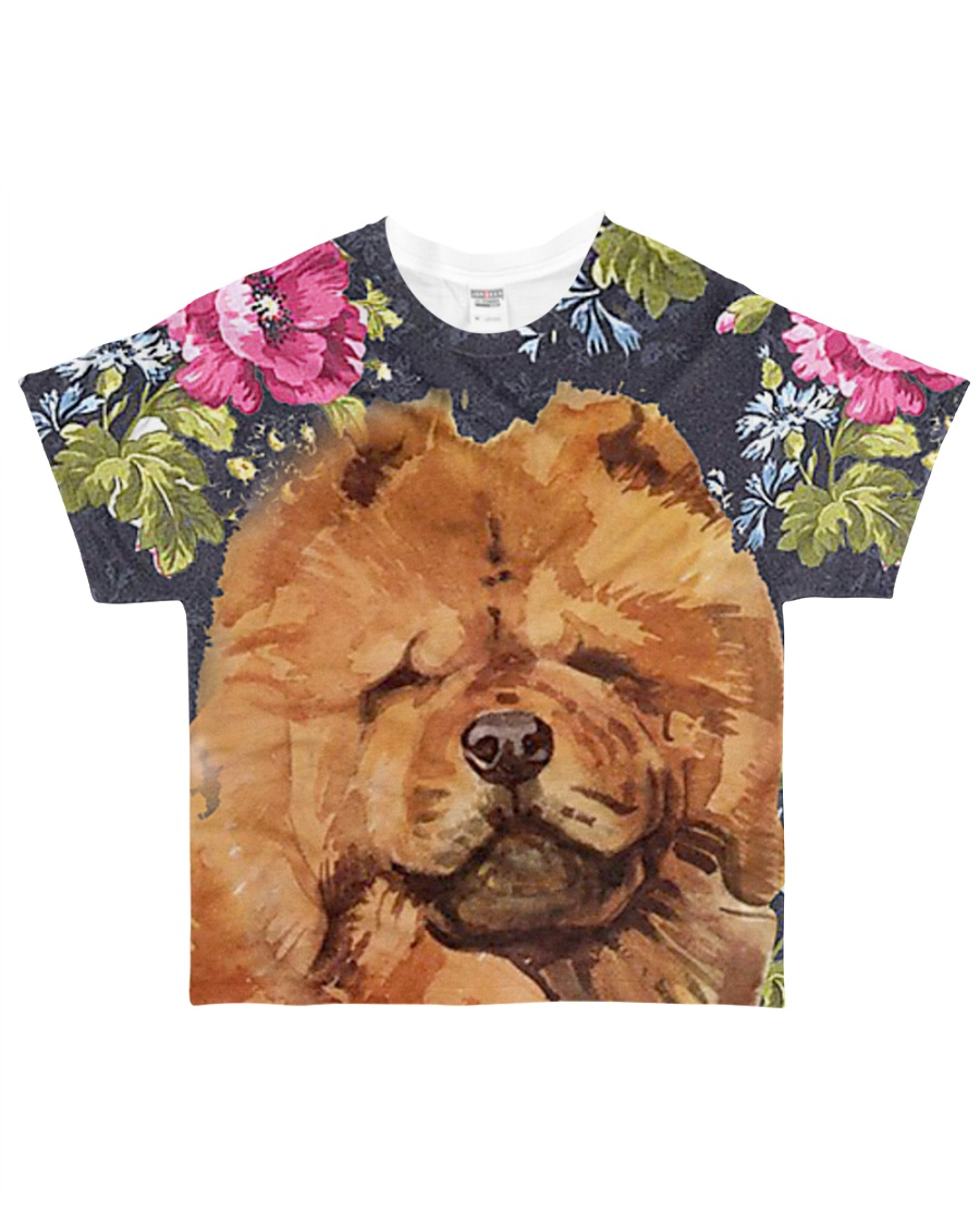 Perfect T shirt for Chow Chow lovers All-over T-Shirt