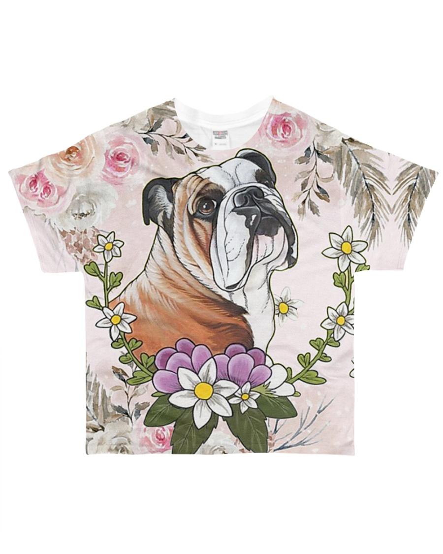Bulldog Tee All-over T-Shirt