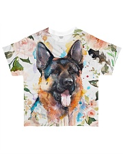 German Shepherd Tee All-over T-Shirt front