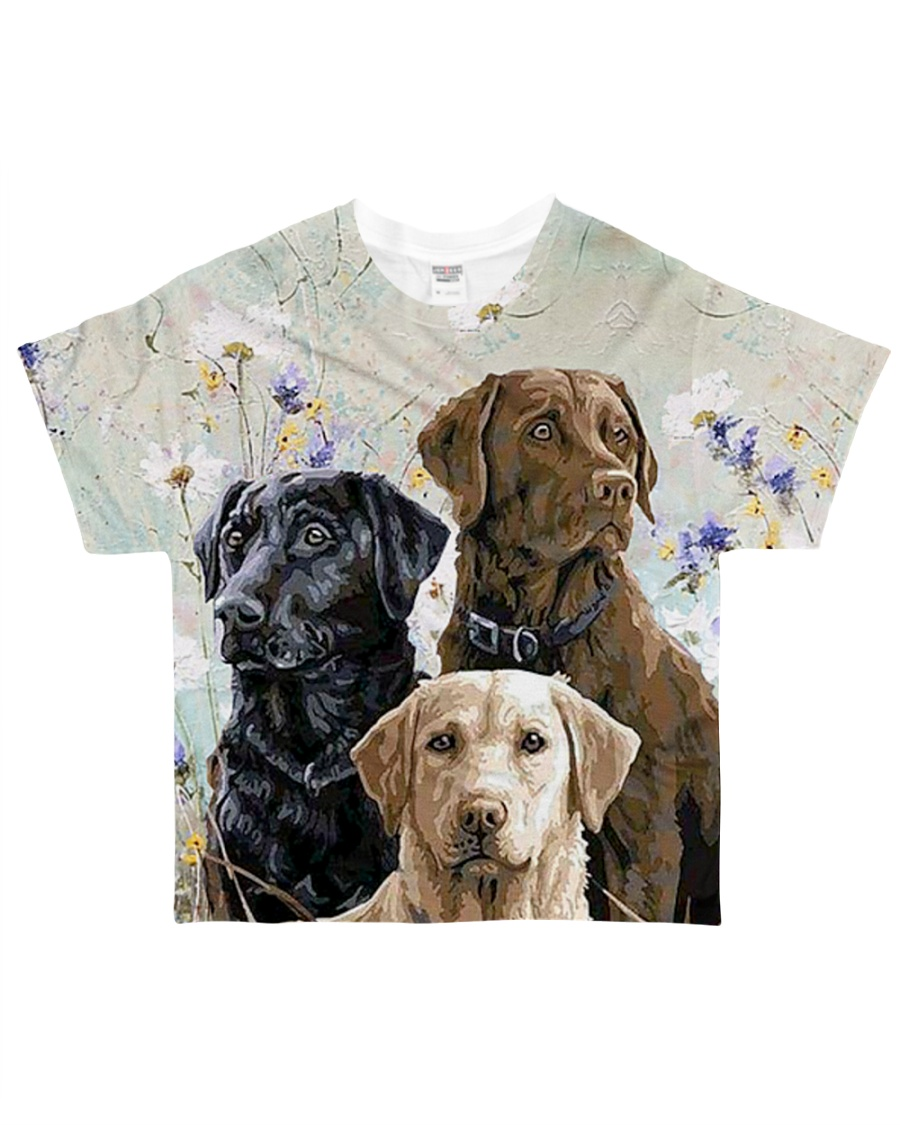 Perfect T shirt for Labrador Retriever lovers All-over T-Shirt