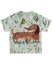 Dachshund Tee All-over T-Shirt back