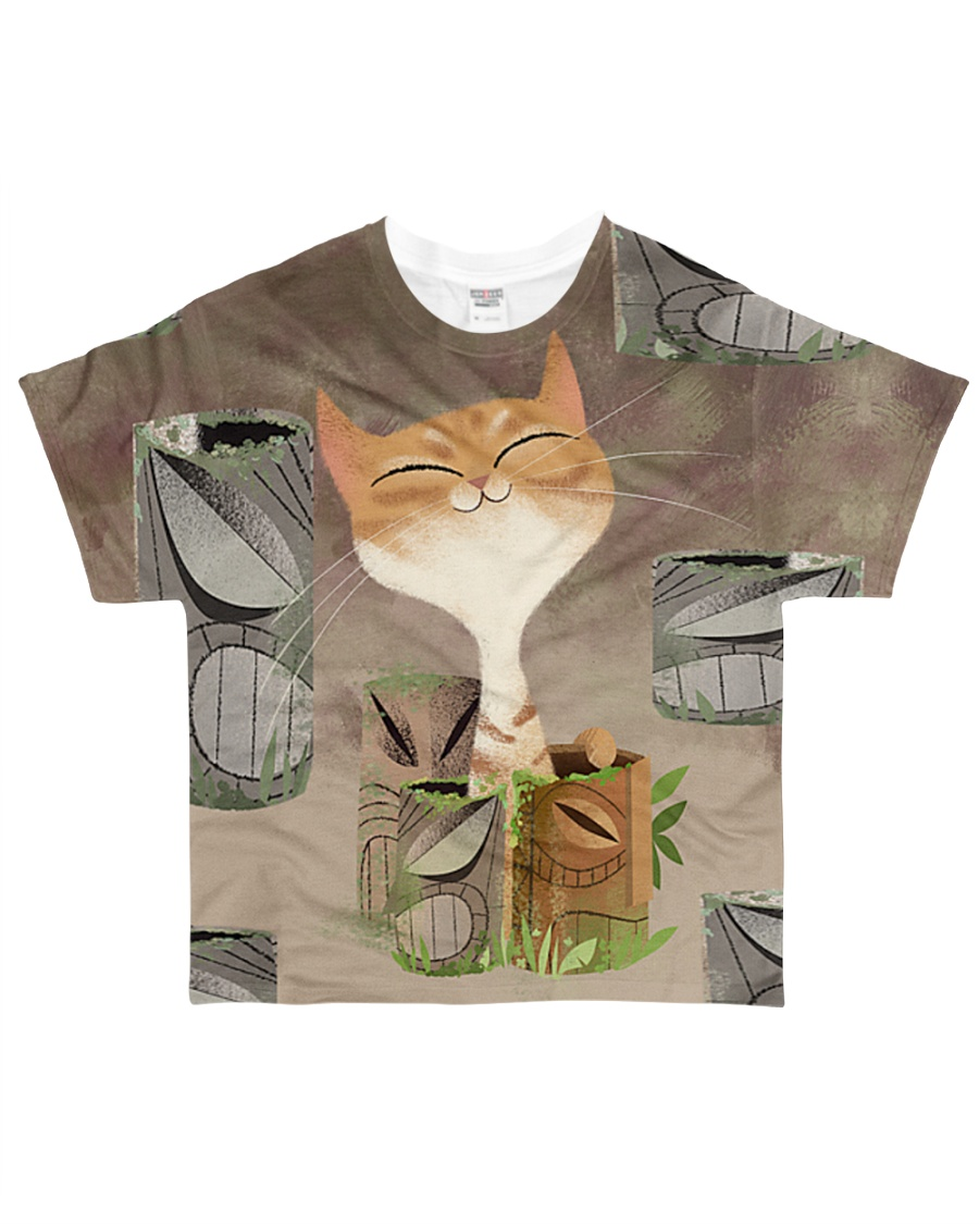Cat Tee All-over T-Shirt
